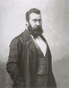 Jean-Fancois Millet, photographed by Nadar.