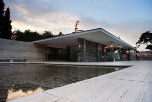 Meant to be a temporary structure, the Barcelona Pavilion was rebuilt in 1986.