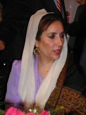 Benazir Bhutto in 2004.