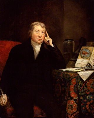 A portrait of Edward Jenner by James Northcote, from between 1803 and 1823. It is now in the National Portrait Gallery, London.