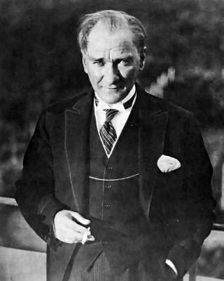 Mustafa Kemal Atatürk in 1931.
