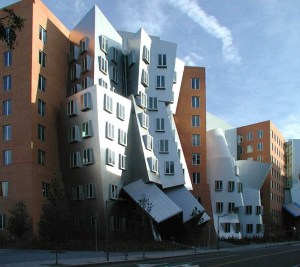 MIT sued Gehry when the building developed leaks, cracks and mold after heavy winters.