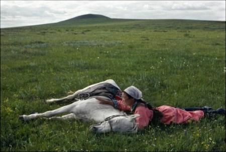 Eve-Arnold-Horse-training-for-the-militia-1979