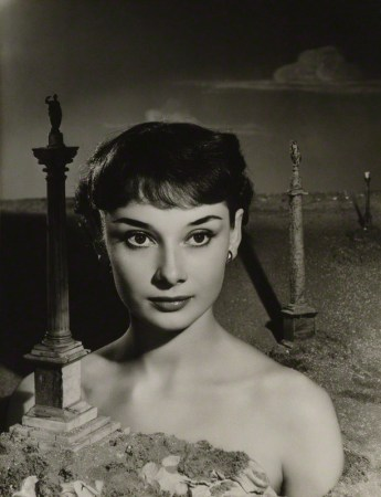 NPG P1295; Audrey Hepburn by Angus McBean