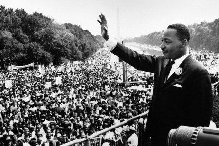 MLK Jr at march on washington