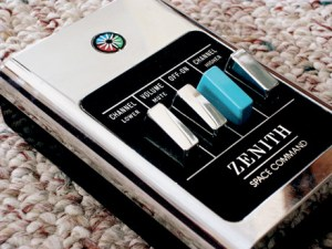 Robert Adler's wireless remote control from 1956 - the Zenith Space Command.