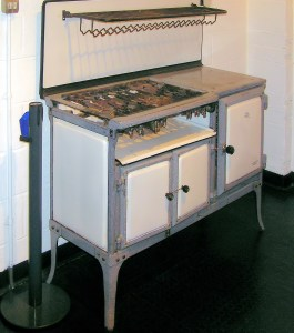 A 1934 gas stove from the UK.