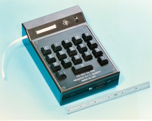 The Cal-Tech calculator, invented by Jack Kilby and his team at Texas Instruments in 1967.