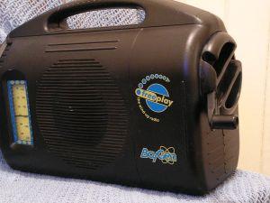 The original Baygen clockwork radio.