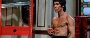 Bruce Lee in Enter the Dragon (1973).