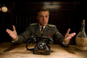 Christoph Waltz in Quentin Tarantino's film, Inglourious Basterds (2009).