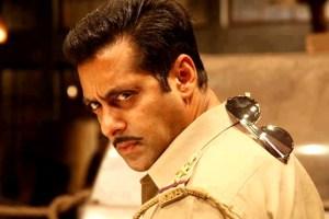 Salman Khan in Dabangg 2 (2012).