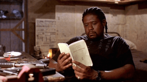 Forest Whitaker in Ghost Dog: The Way of the Samurai (1999).