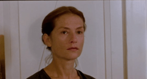 Isabelle Huppert in The Piano Teacher (2001).