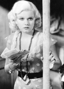 Jean Harlow in Red Dust (1932).