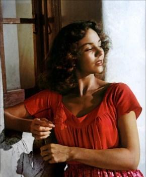 Jennifer Jones in Duel in the Sun (1946).