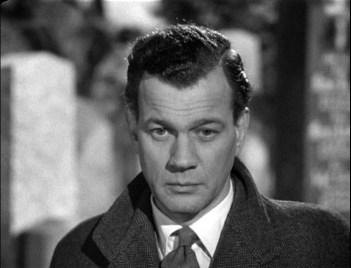 Joseph Cotten in Carol Reed's The Third Man (1949).