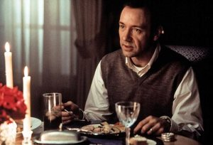 Kevin Spacey in American Beauty (1999).