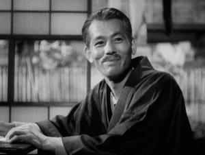 Chishu Ryu in Yasujiro Ozu's Late Spring.