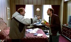 Nicolas Cage (left) and Nicolas Cage in Adaptation (2002).