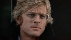 Robert Redford in Three Days of the Condor (1975).