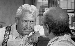 Spencer Tracy in Inherit the Wind (1960).