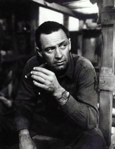 William Holden in Stalag 17 (1954).