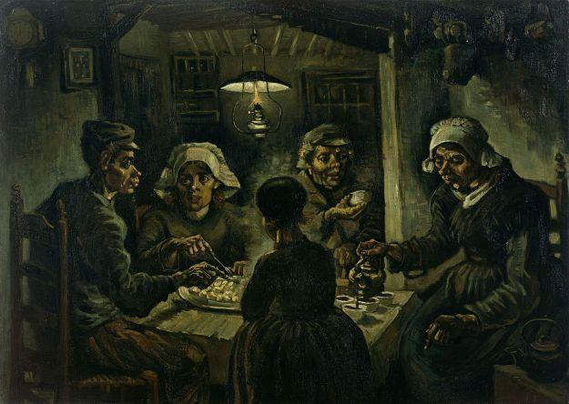 van gogh potato eaters