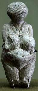 The Venus of Kostenki figurine.