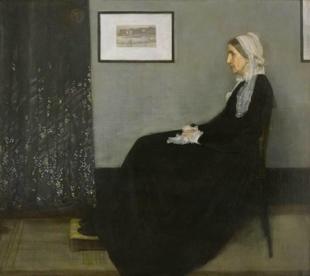 whistler the artist's mother