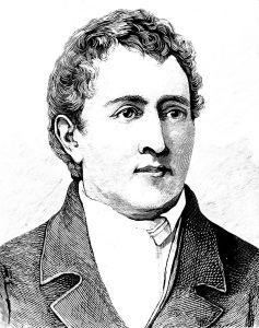 An engraved portrait of Carl Wilhelm Scheele (1742-1786).