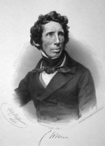 An 1856 lithograph of Friedrich Wohler by