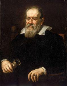 Portrait of Galileo Galilei (1564-1642) by Giusto Sustermans in 1636.