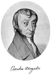 Amedeo Avogadro.