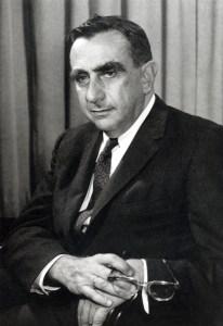 A 1958 photograph of Edward Teller.