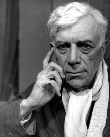 An undated photograph of Georges Braque.