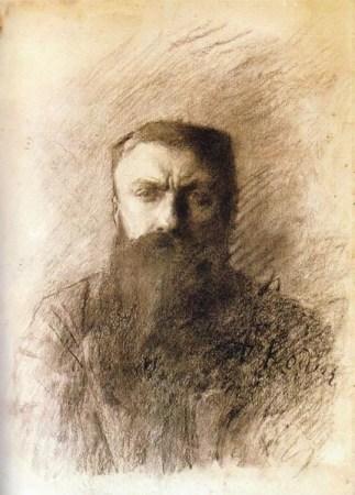 An 1898 Self-Portrait by Auguste Rodin.
