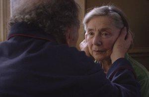 Emmanuelle Riva in Michael Haneke's Amour.