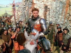 Laurence Olivier directed and starred in Henry V.