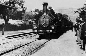 The Arrival of a Train at La Ciotat, one of the short subjects from the original Lumiere program.