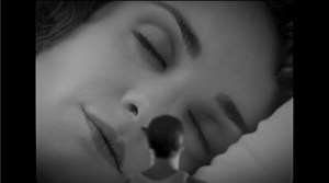 A still image from Talk to Her.