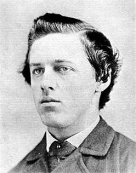 An 1862 photograph of William Henry Jackson.