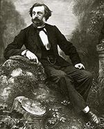 A self-portrait of Charles Negre from about 1860.