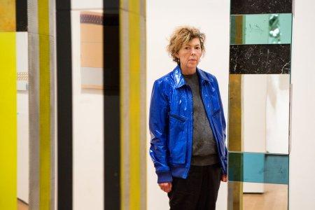 Isa Genzken at the Museum of Modern Art in New York in 2013.