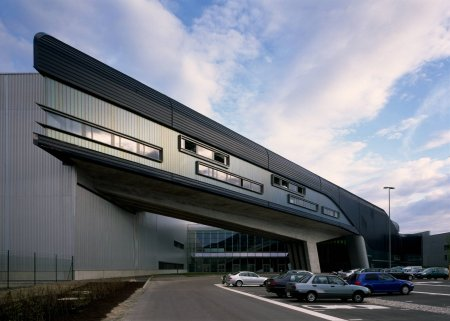 The BMW Central Building in XXX, Germany was designed by Zaha Hadid.