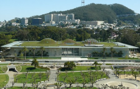 California Academy of Sciences in San Francisco.