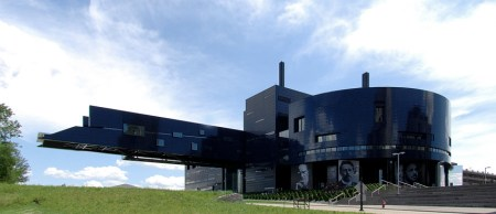 Guthrie Theater, by Jean Nouvel, in Minneapolis, Minnesota.