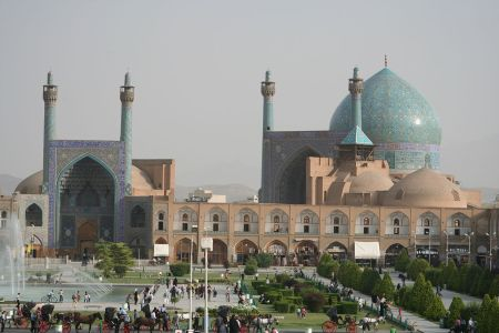 Imam Mosque (Shah Mosque) in Isfahan, Iran.