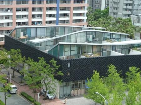 Nexus World Housing in Fukuoka, Japan.