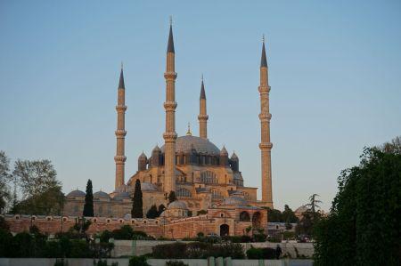 Selimye Mosque in Edirne, Turkey.